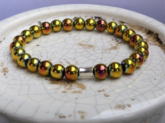 Sunshine Titanium Hematite Bracelet
