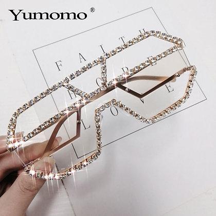 Luxury  Rhinestone Sunglasses
