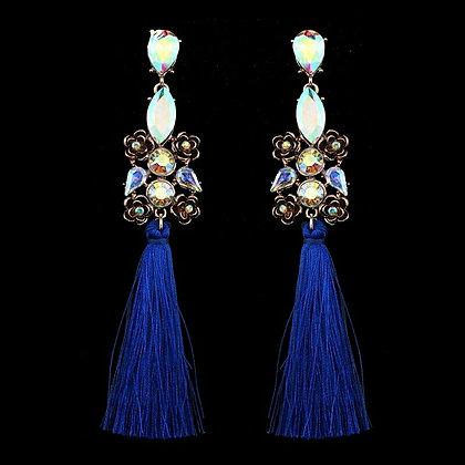 Crystal Tassle Earrings