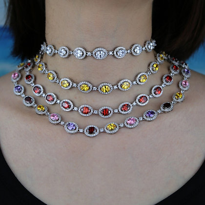Colouful Bling Necklace