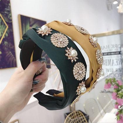 Crystal Pearl Headband