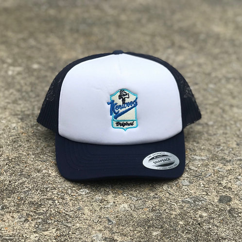 Kenwood Navy Blue Mesh Hat