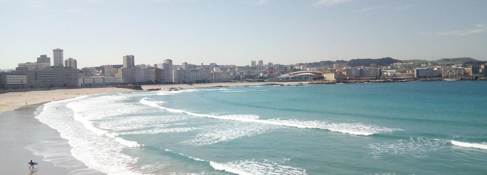Orzán beach
