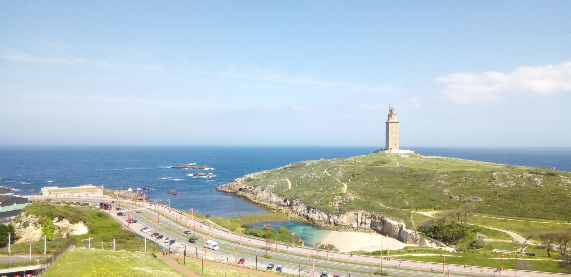 Torre de Hércules and park
