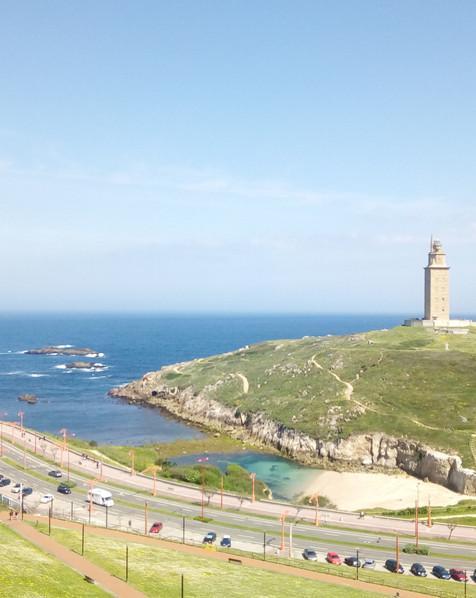 Torre de Hércules and park