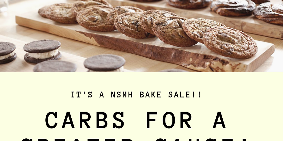 NSMH Bake Sale Fundraiser