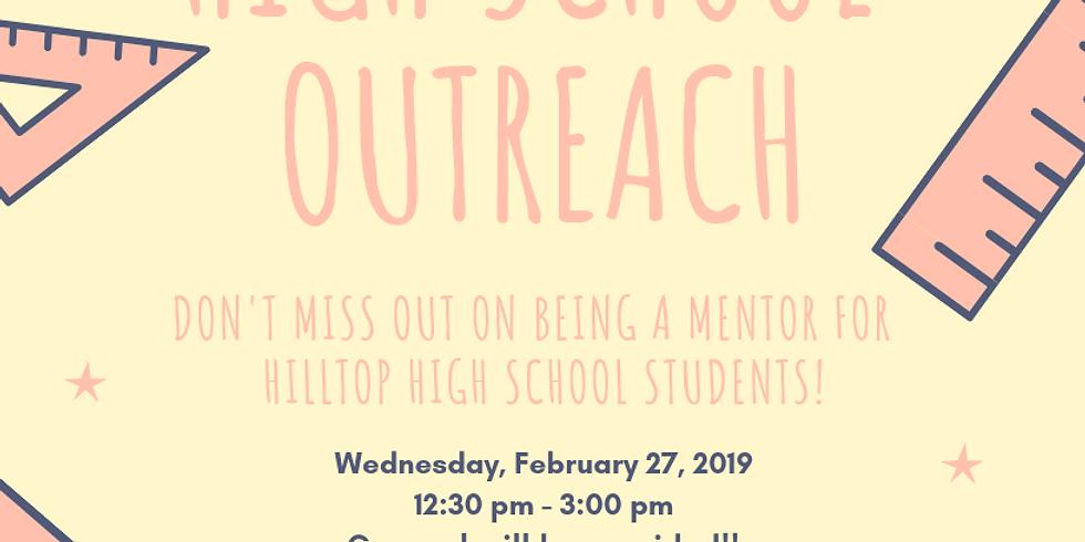 Hilltop High School Outreach