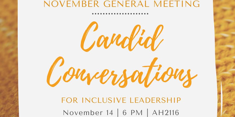 November Member Meeting