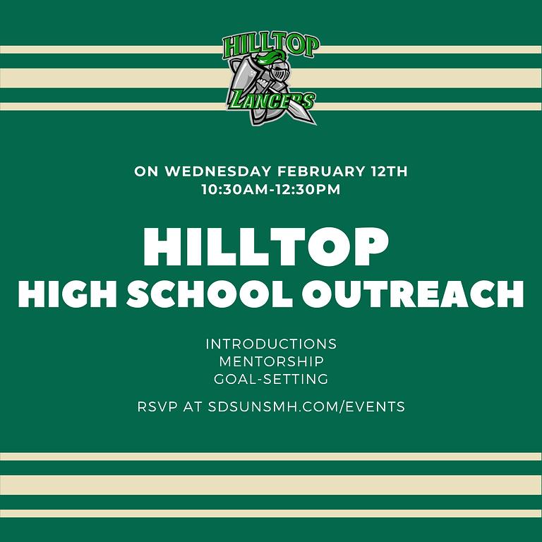 High School Outreach: Hilltop High School