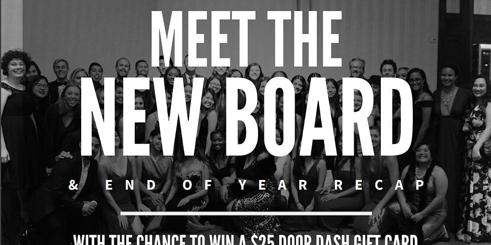Meet the New Board & Year Recap