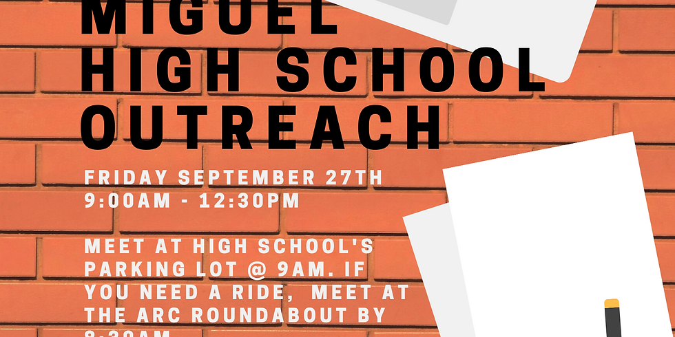 High School Outreach: Mount Miguel