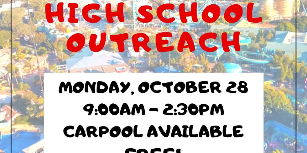 High School Outreach: Sea World