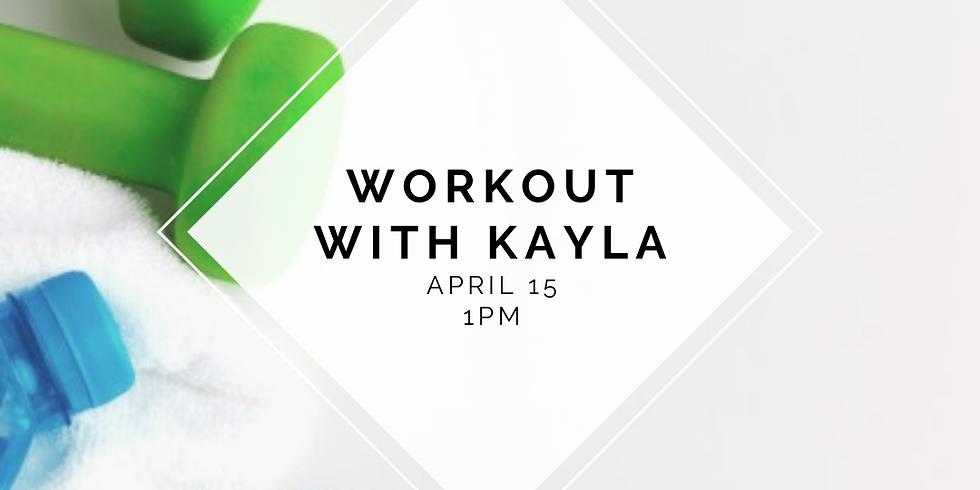 Workout with Kayla