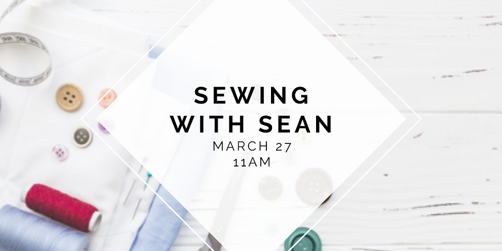 Sewing with Sean