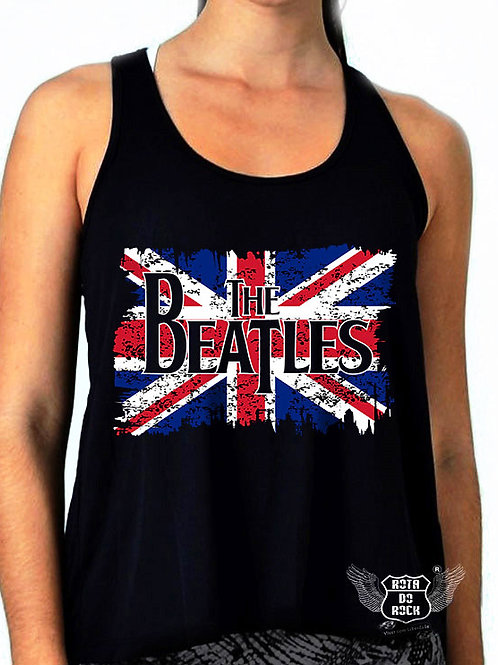 Regata Feminina The Beatles Flag