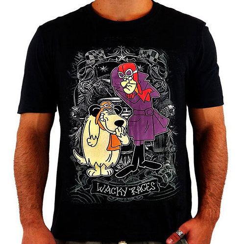 Camiseta Dick Vigarista e Muttley