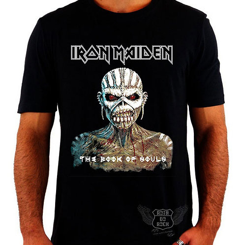 Camiseta Iron Maiden Book Of Souls