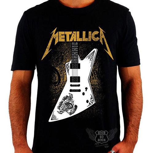 Camiseta Metallica Guitarra Papa Het