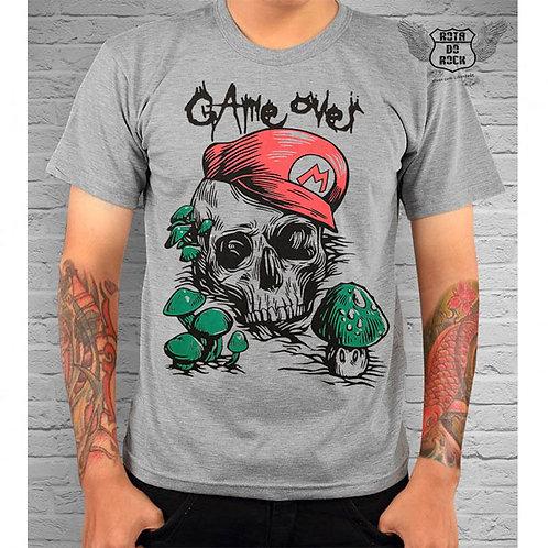 Camiseta Game Over Mario