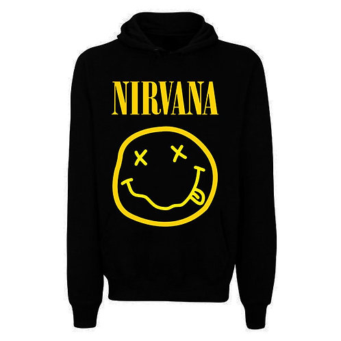 Moletom Unissex Nirvana Smile