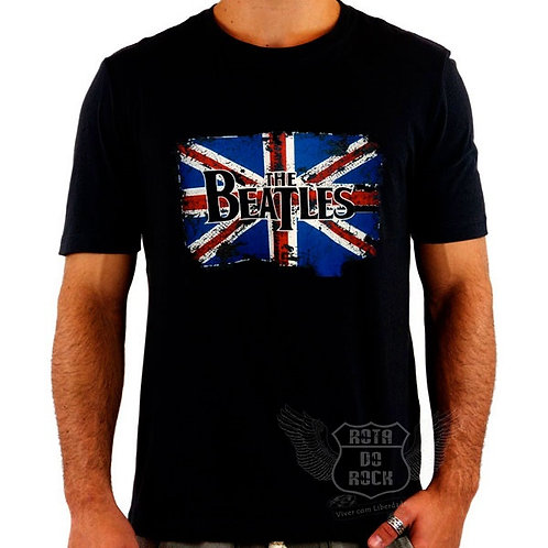 Camiseta The Beatles Flag