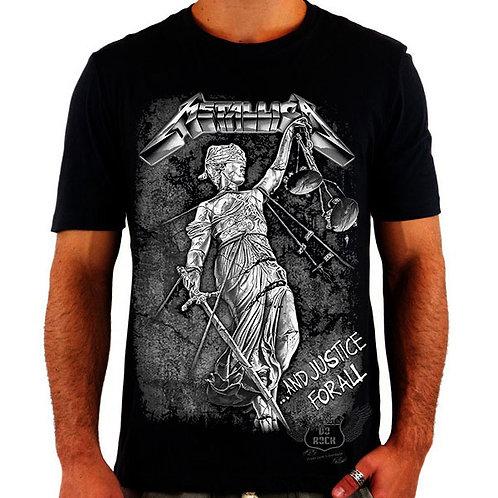 Camiseta Metallica Justice For All
