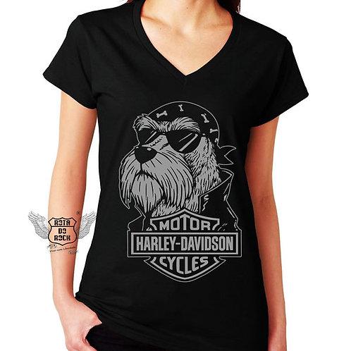 Baby look Motociclismo - Harley Dog