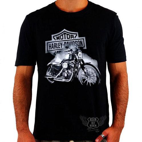 Camiseta Harley Davidson Máquina
