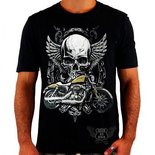 Camiseta Harley Amarela