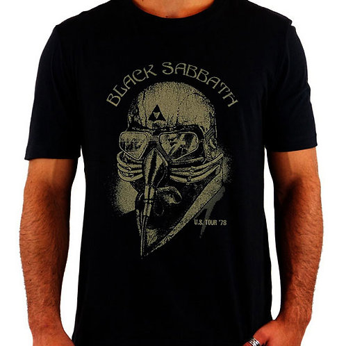Camiseta Black Sabbath Tour 78