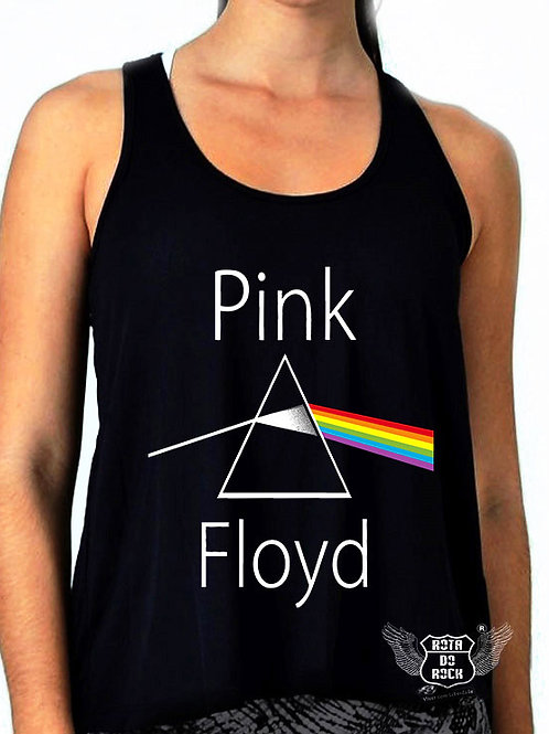 Regata Feminina Pink Floyd Dark Side Of The Moon