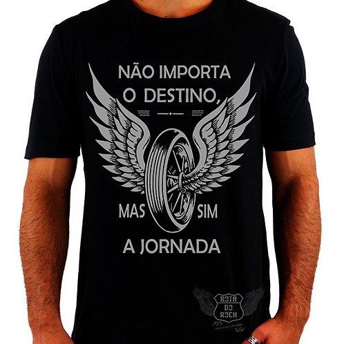 Camiseta Motociclismo - Destino