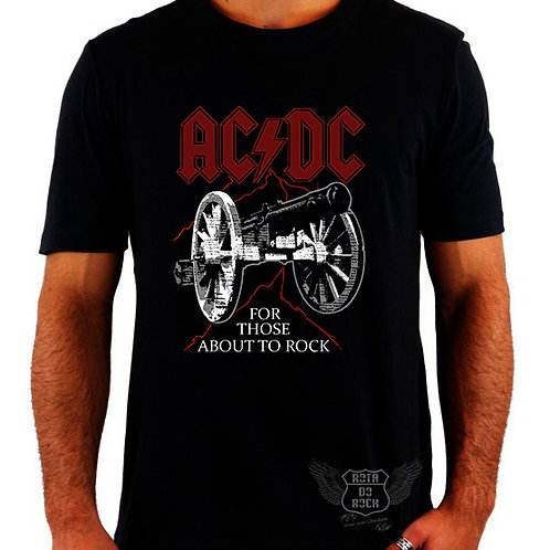 Camiseta ACDC For Those About To Rock