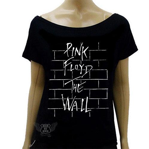 Blusinha de Ombro Caído Pink Floyd The Wall