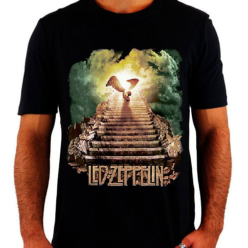 Camiseta Led Zeppelin Stairway to Heaven