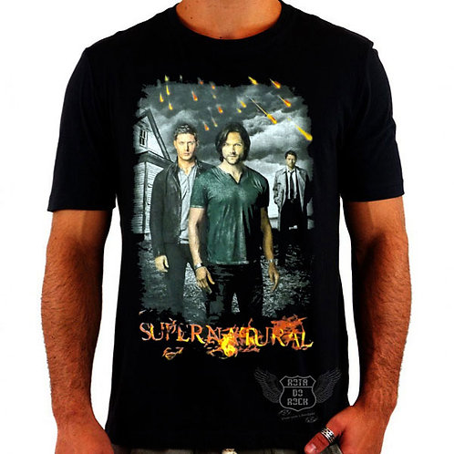 Camiseta Supernatural Sam e Dean