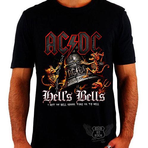 Camiseta ACDC Hells Bells