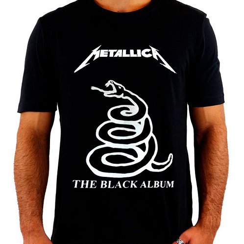 Camiseta Metallica The Black Album