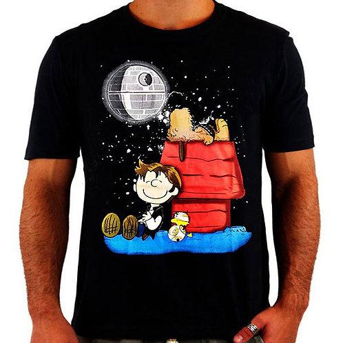Camiseta Snoopy Star Wars