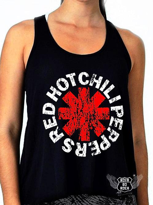 Regata Feminina Red Hot Chilli Peppers