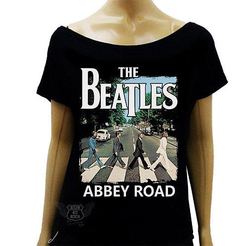 Blusinha de Ombro Caído The Beatles Abbey Road