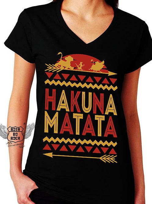 T-shirt Feminina Hakuna Matata