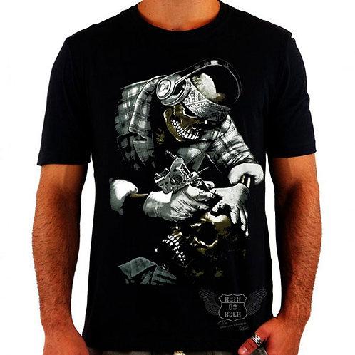 Camiseta Skull Tatoo