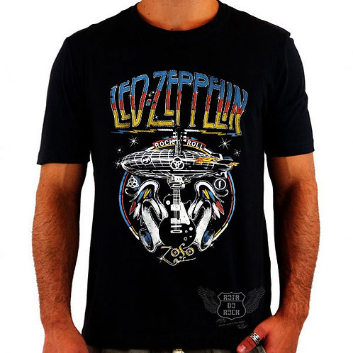 Camiseta Led Zeppelin Disco