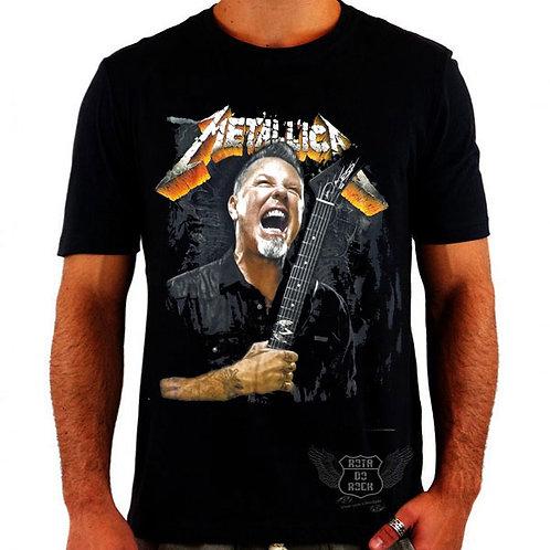 Camiseta Metallica James