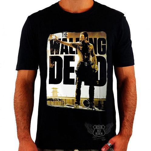 Camiseta The Walking Dead Rick