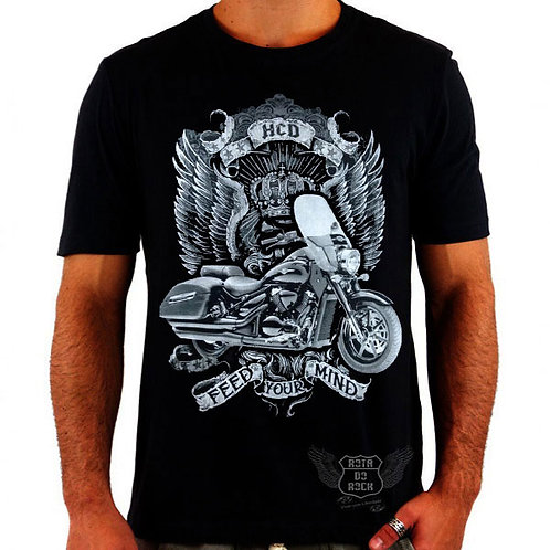 Camiseta Harley (Feed Your Mind)