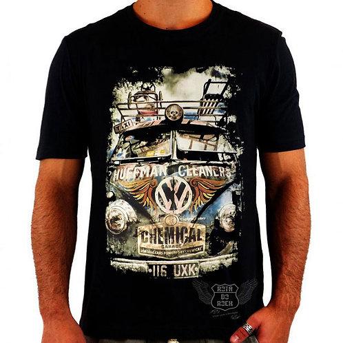 Camiseta Kombi Estilizada