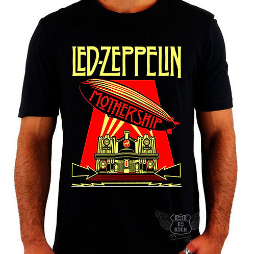 Camiseta Led Zeppelin Mothership