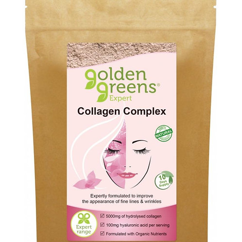 Golden Greens (Greens Organic)  Collagen Complex 100g